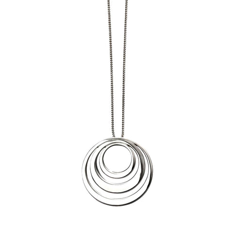 Trio of Circles Necklace from the Necklaces collection at Argenteus Jewellery