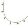 Stone Beads Necklace - Magnesite from the Necklaces collection at Argenteus Jewellery