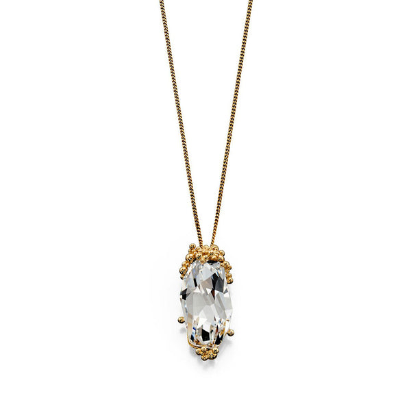 Starlight Glow Crystal Necklace from the Necklaces collection at Argenteus Jewellery
