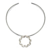 Spiral Ribbon Torc Necklace from the Necklaces collection at Argenteus Jewellery