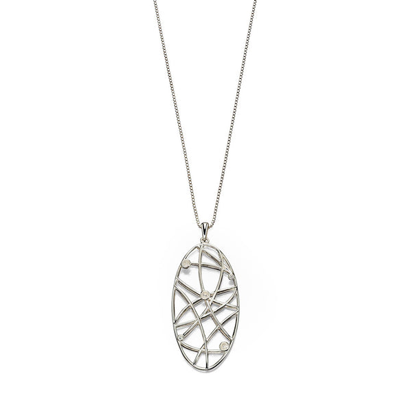 Random Lines Necklace from the Necklaces collection at Argenteus Jewellery