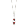 Embers Necklace - Marcasite from the Necklaces collection at Argenteus Jewellery