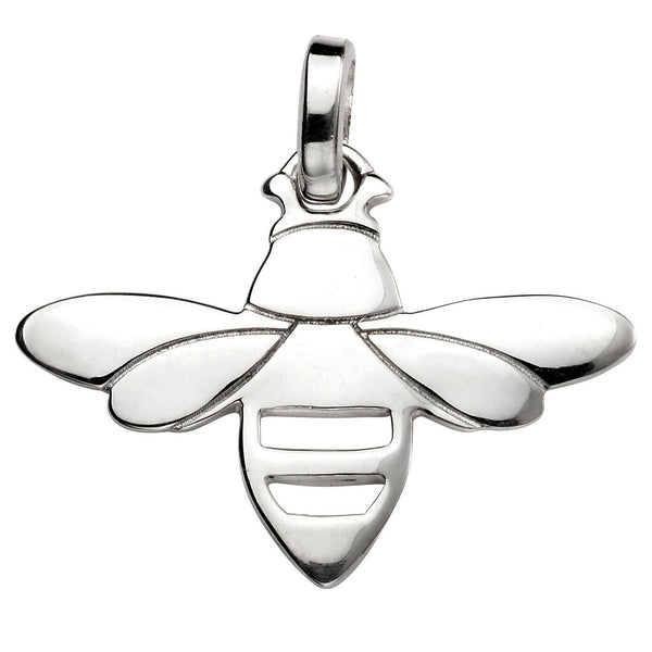Bee Pendant Necklace from the Necklaces collection at Argenteus Jewellery