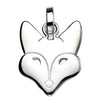 Fox Face Pendant Necklace from the Necklaces collection at Argenteus Jewellery