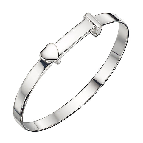 Heart Baby Bangle from the Bangles collection at Argenteus Jewellery