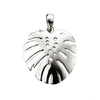 Palm Leaf Drop Pendant Necklace from the Necklaces collection at Argenteus Jewellery