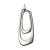 Abstract Drop Pendant Necklace from the Necklaces collection at Argenteus Jewellery