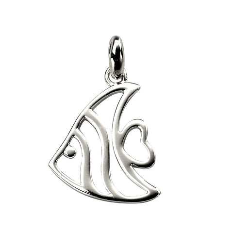 Angel Fish Pendant Necklace from the Necklaces collection at Argenteus Jewellery