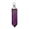 Chakra Crystal Wand Pendant from the Pendants collection at Argenteus Jewellery