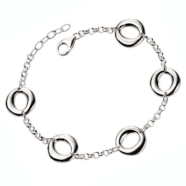 Organic Circles Bracelet from the Bracelets collection at Argenteus Jewellery