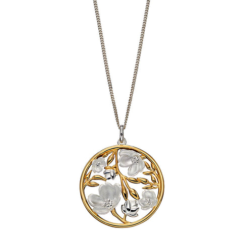 Blossoms and Buds Necklace from the Necklaces collection at Argenteus Jewellery