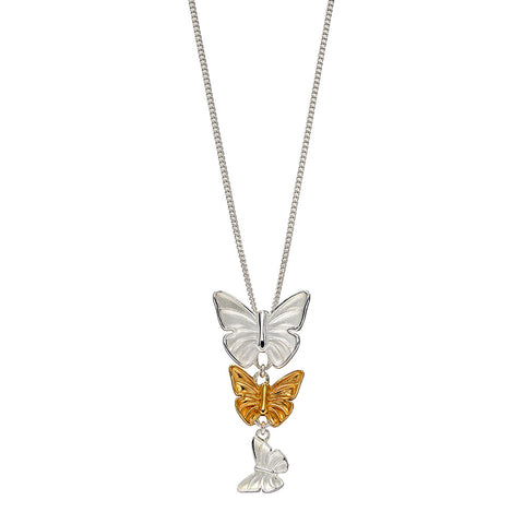 Butterfly Cascade Necklace