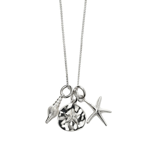 Seaside Charm Necklace from the Necklaces collection at Argenteus Jewellery