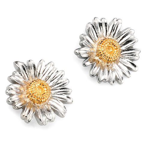 Sterling Silver Flower Stud Earrings from the Earrings collection at Argenteus Jewellery