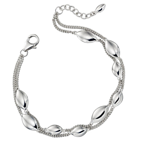 Silver Raindrops Bracelet from the Bracelets collection at Argenteus Jewellery