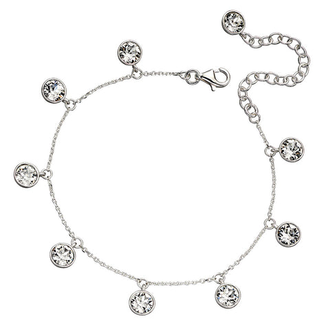 White Lights Crystal Bracelet