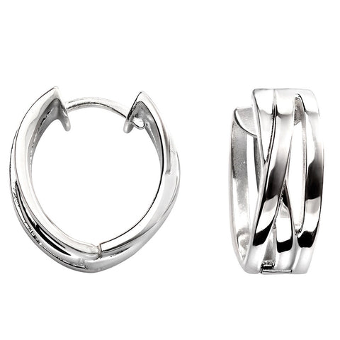 Wrapped Hoop Earrings from the Earrings collection at Argenteus Jewellery