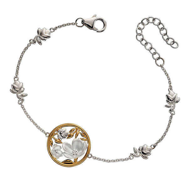 Blossoms and Buds Bracelet from the Bracelets collection at Argenteus Jewellery