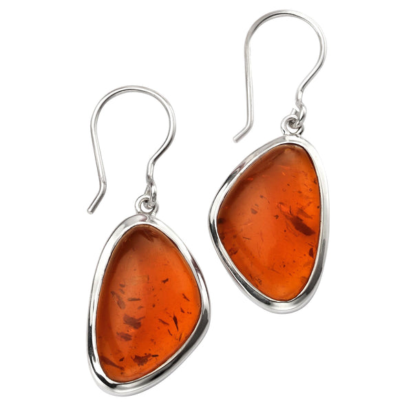 Amber Shapes Earrings from the Earrings collection at Argenteus Jewellery