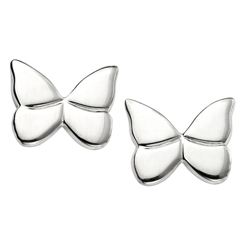 Butterfly Stud Earrings from the Earrings collection at Argenteus Jewellery