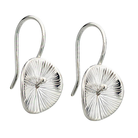 Lilypad Leaves Earrings from the Earrings collection at Argenteus Jewellery