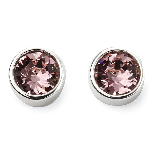 Birthstone Earrings-June Light Amethyst from the Earrings collection at Argenteus Jewellery