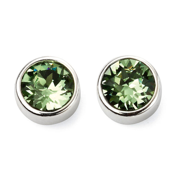 Birthstone Earrings-August Peridot from the Earrings collection at Argenteus Jewellery