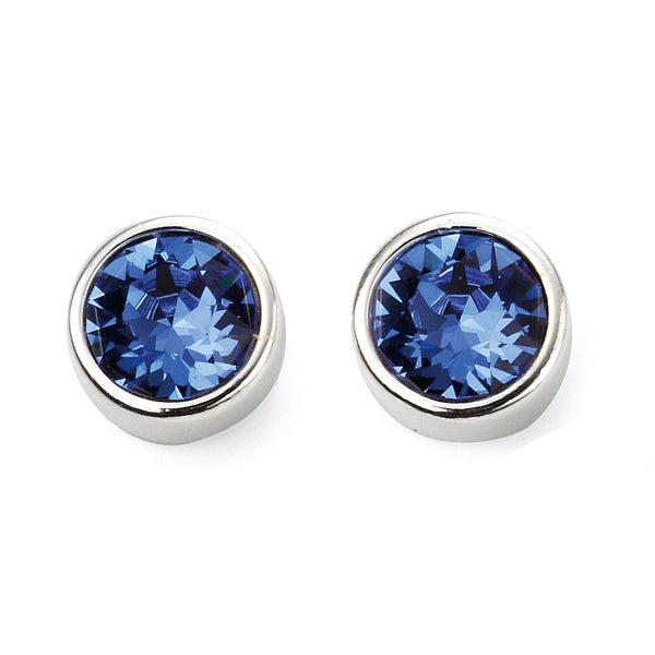 Birthstone Earrings-September Sapphire from the Earrings collection at Argenteus Jewellery