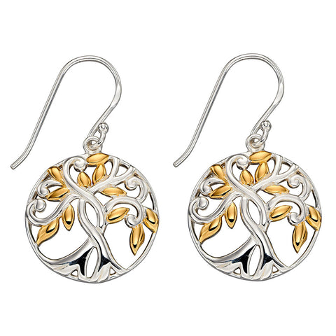 Tree of Life Earrings from the Earrings collection at Argenteus Jewellery