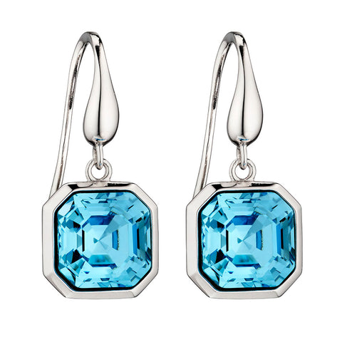 Imperial Aquamarine Blue - Earrings
