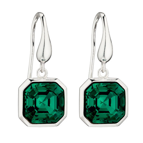 Imperial Emerald Green - Earrings