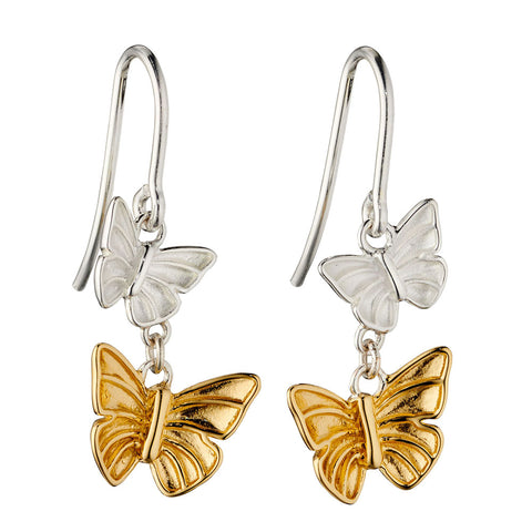 Butterfly Cascade Earrings