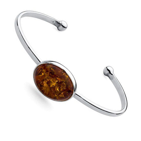 Amber Oval Bangle from the Bangles collection at Argenteus Jewellery