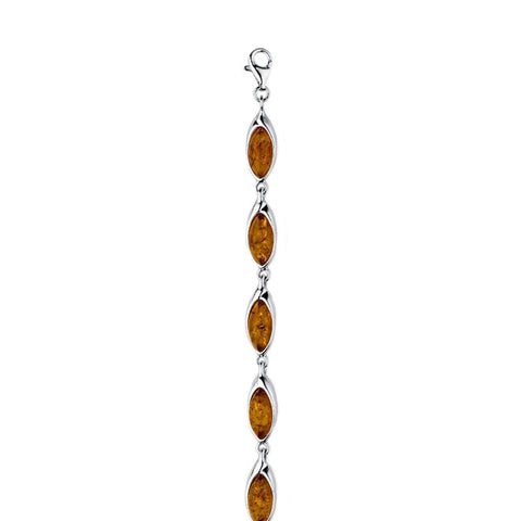 Amber Ellipses Bracelet from the Bracelets collection at Argenteus Jewellery