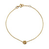 Gold Infinity Bead Bracelet from the Bracelets collection at Argenteus Jewellery