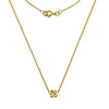 Gold Infinity Bead Necklace from the Necklaces collection at Argenteus Jewellery