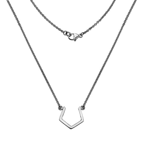 Pentagon Necklace from the Necklaces collection at Argenteus Jewellery