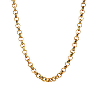 Virtue Keepsake Belcher Chain 45cm - Rose Gold Plate from the Necklaces collection at Argenteus Jewellery