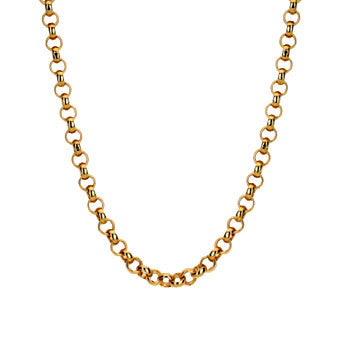 Virtue Keepsake Belcher Chain 76cm - Rose Gold Plate from the Necklaces collection at Argenteus Jewellery