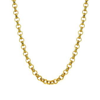 Virtue Keepsake Belcher Chain 76cm - Yellow Gold Plate from the Necklaces collection at Argenteus Jewellery