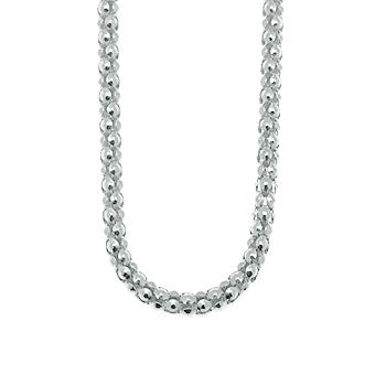 Virtue Keepsake Popcorn Chain 76cm from the Necklaces collection at Argenteus Jewellery