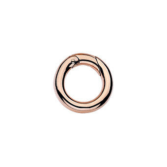 Virtue Keepsake Jump Ring Small - Rose Gold Plate from the Sundries collection at Argenteus Jewellery