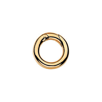 Virtue Keepsake Jump Ring Small - Yellow Gold Plate from the Sundries collection at Argenteus Jewellery