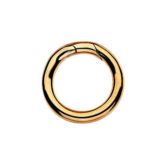 Virtue Keepsake Jump Ring Medium - Yellow Gold Plate from the Sundries collection at Argenteus Jewellery