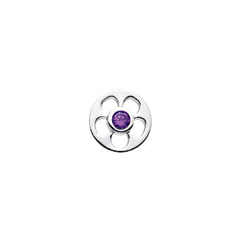 Virtue Keepsake Purple Crystal Insert 10mm from the Keepsake Inserts collection at Argenteus Jewellery