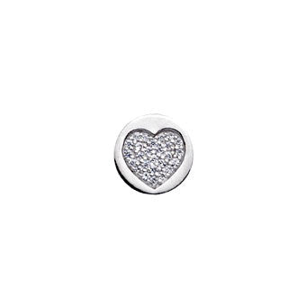 Virtue Keepsake Crystal Heart Insert 10mm