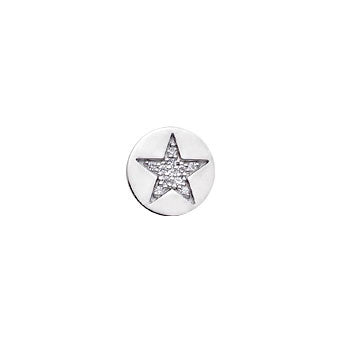 Virtue Keepsake Crystal Star Insert 10mm from the Keepsake Inserts collection at Argenteus Jewellery