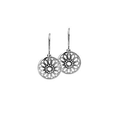 Virtue Keepsake Daisy Drop Earrings from the Earrings collection at Argenteus Jewellery