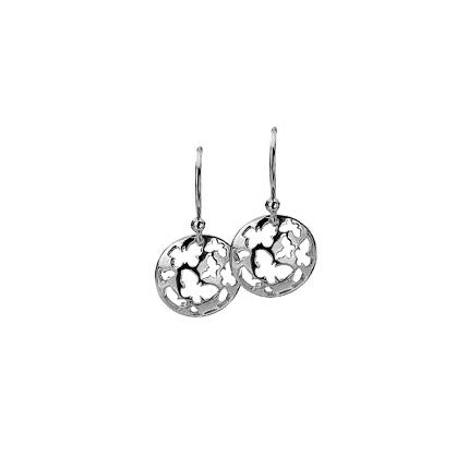 Virtue Keepsake Butterflies Drop Earrings from the Earrings collection at Argenteus Jewellery