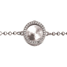 Virtue Keepsake Crystal Bracelet 10mm from the Bracelets collection at Argenteus Jewellery